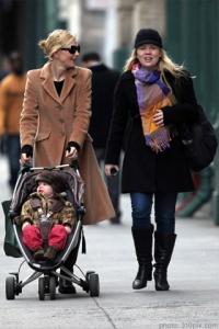 Cate Blanchett, Son, & Nanny